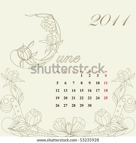 2011 calendar template microsoft. 2011 calendar template