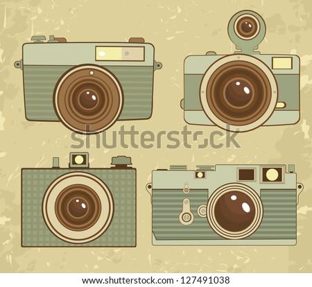 Vintage Camera Collection.
