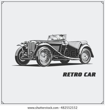 vintage car retro car classic