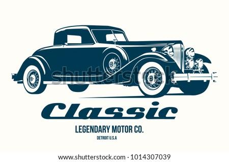 vintage car t shirt design