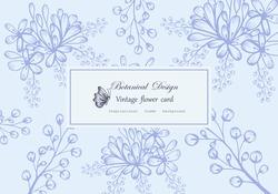 Vintage card hand drawn flower Floral wreath floral flower frame for flower shop with label design, summer, rose, flower greeting card, background for cosmetic packaging