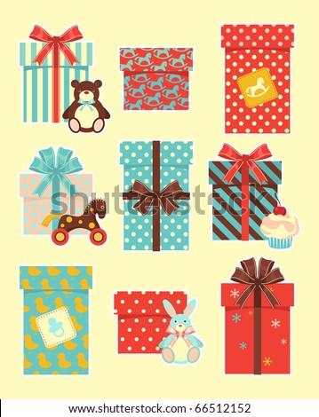 Vintage children`s gifts