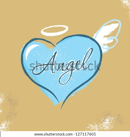 Vintage Christian design �� Angel