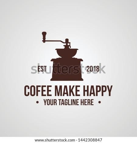 vintage coffee shop or coffee