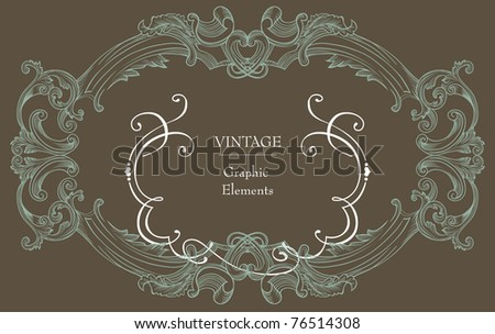 stock vector vintage dark recycle brown paper best for wedding