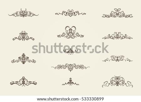 Decorao elegante download vetores e grficos gratuitos vintage decor elements and wicker lines in vector decoration for logos page wedding junglespirit Choice Image