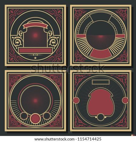 vintage decorative cover