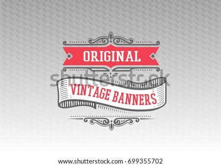 vintage decorative frames and flourishes