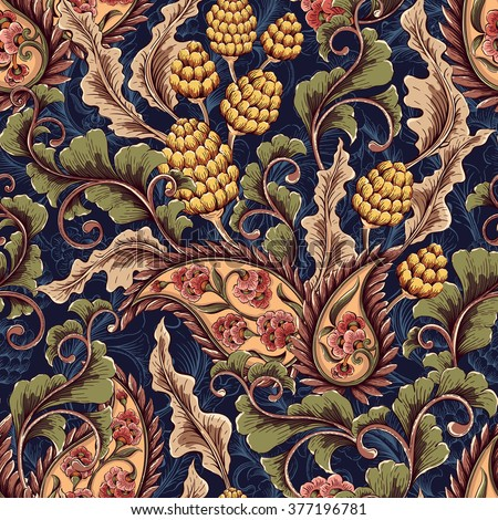 vintage decorative seamless