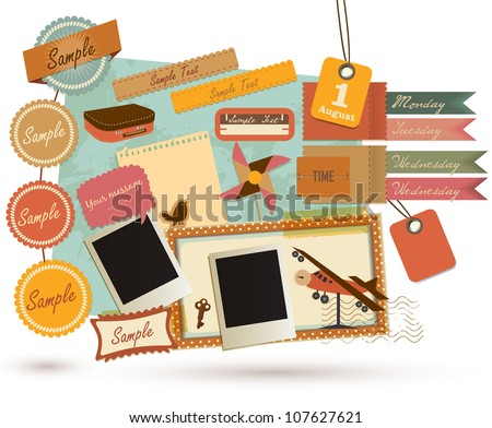 Vintage Design Elements (19) - stock vector