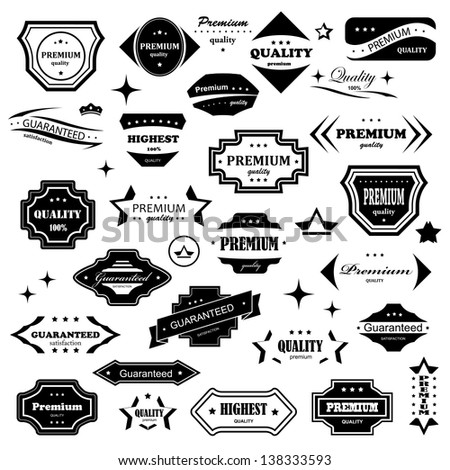 Vintage Graphic Design Elements Vintage Design Elements Set