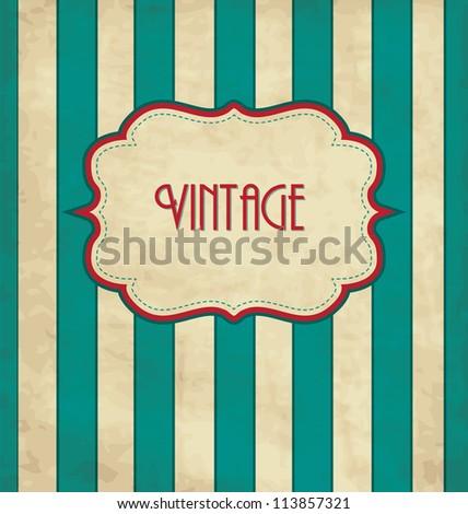 Vintage Design Template