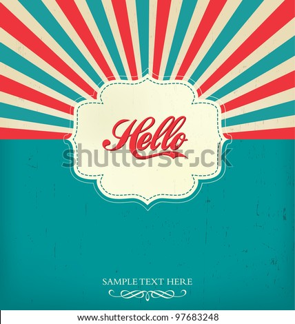 stock-vector-vintage-design-template