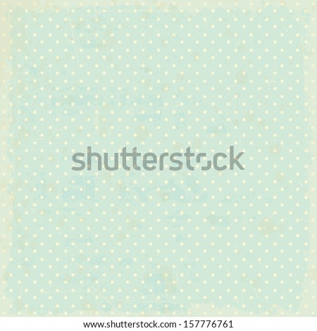 vintage dots background