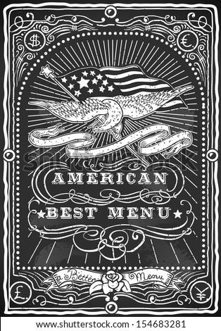 vintage eagle restaurant menu...
