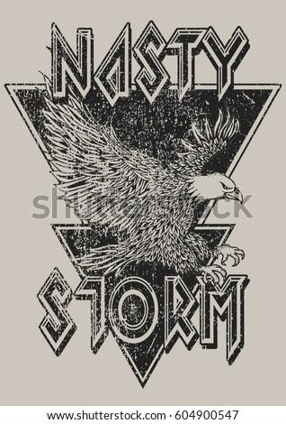 vintage eagle rock