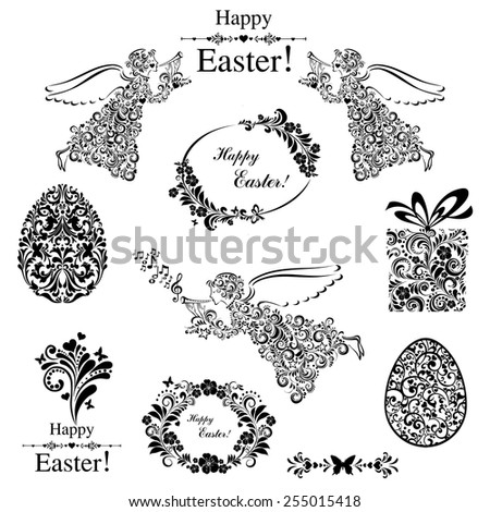 vintage easter set collection