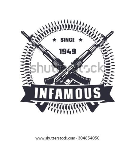 vintage emblem  sign  t shirt