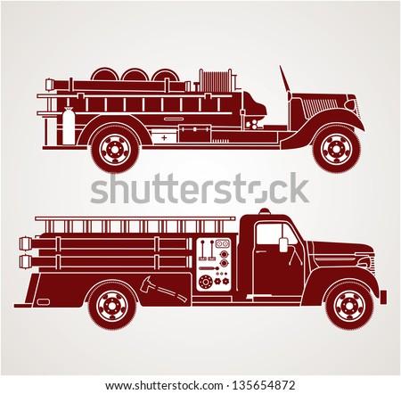 Vintage Fire Trucks