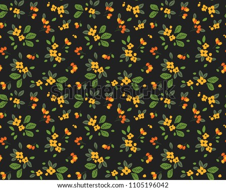 Dark Floral Pattern Background Vector Download Free Vector Art