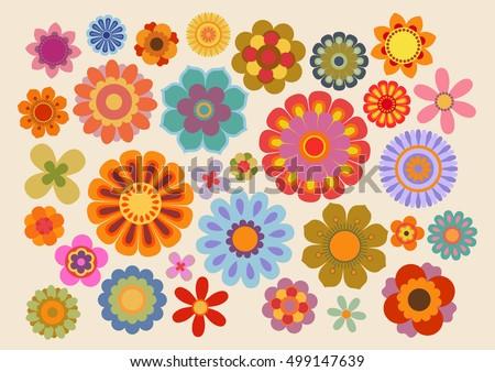 vintage flowers  part 5