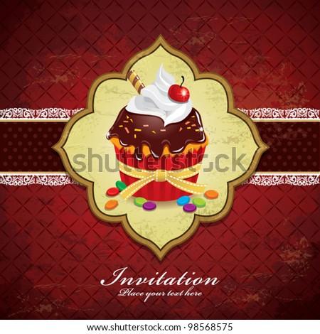 "Donnay Style's ""Vintage Cupcake set"" set on Shutterstock"