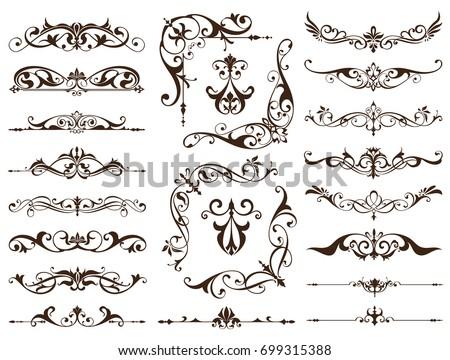 floral art nouveau frame download free vector art stock graphics