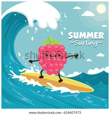 vintage fruit poster design