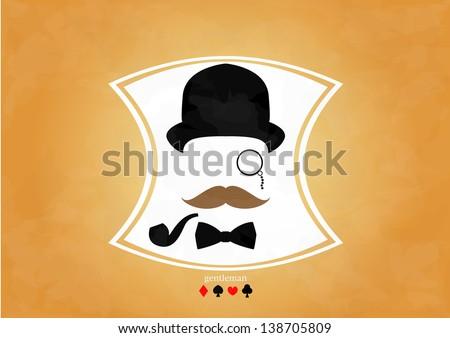 vintage gentleman portrait