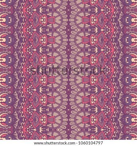 vintage geometric tribal style background surface pattern