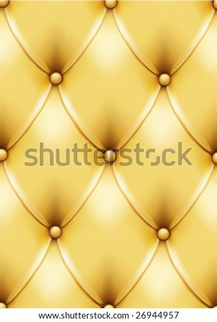 Vintage gold leather pattern. VECTOR, made with gradient mesh. Can be easily used for seamless pattern creation!