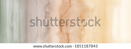 Vintage gradient abstract horizontal background with stains watercolor Foto stock ©