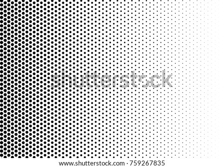 Vintage Halftone Background. Fade Distressed Overlay. Modern Texture. Abstract Pattern. Vector illustration Foto d'archivio ©