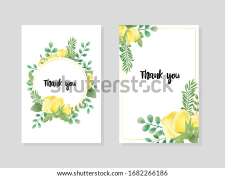 vintage hand drawn yellow rose