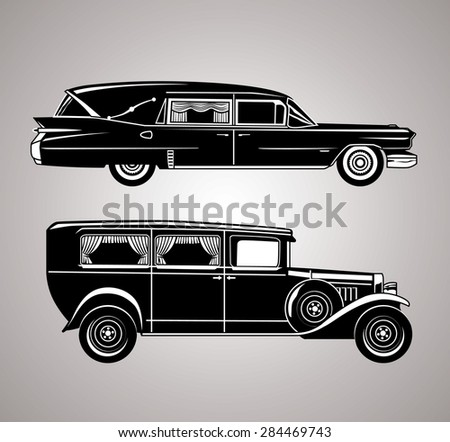 vintage hearses