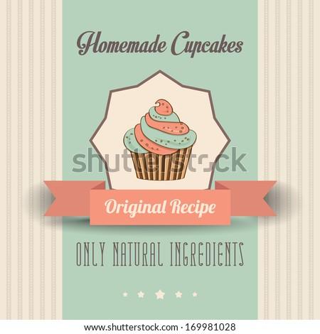 vintage homemade cupcakes
