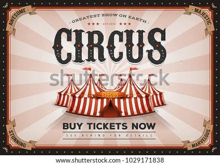vintage horizontal circus...
