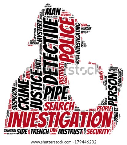 vintage investigator silhouette