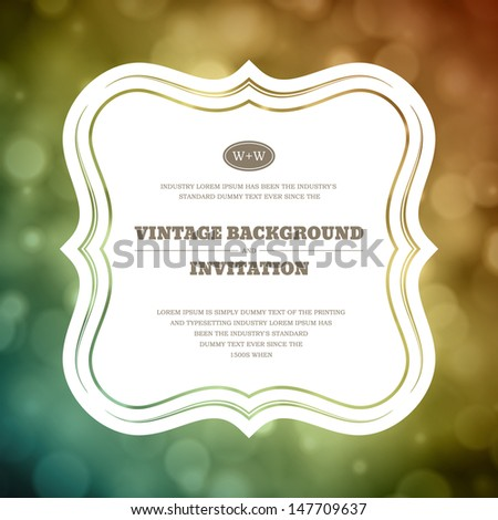 Invitation vector background png invitation vector background png vintage invitation frame vector stopboris Images