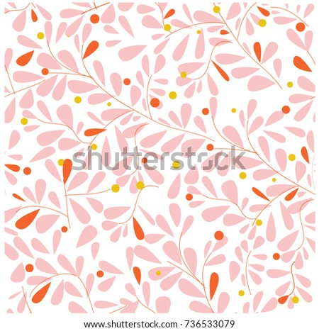 vintage light pink wild flower