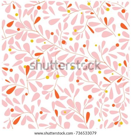 vintage light pink wild flower