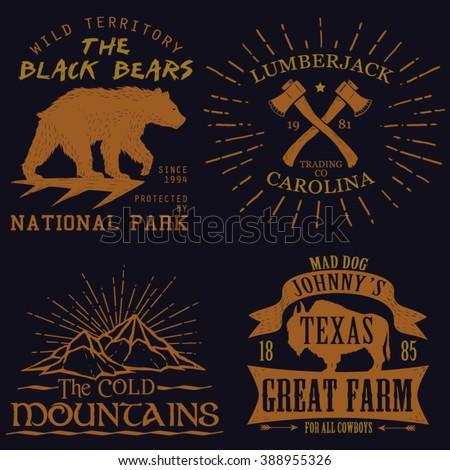 vintage logos tee graphic...
