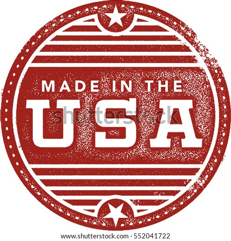 vintage made in the usa rubber