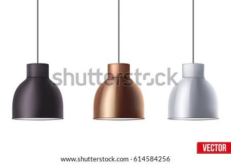 vintage metallic stylish hang