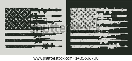 vintage military concept with