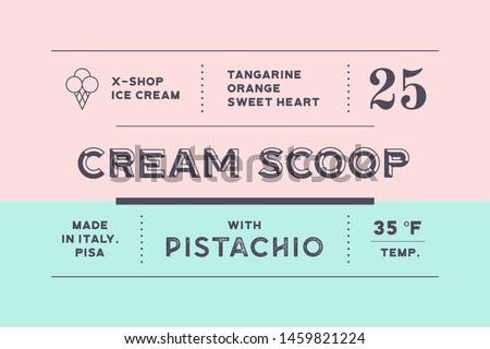 Vintage Minimal Label. Set of graphic modern vintage label for brand, logo, sticker. Retro minimal design label, tag or card, classic old school style with typographic. Vector Illustration