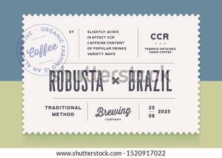 Vintage Minimal Label. Set of graphic modern vintage label, tag, sticker for brand, logo, packing. Retro design minimal label, tag or card, classic old school style, typography. Vector Illustration