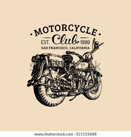 Vintage motor bike club