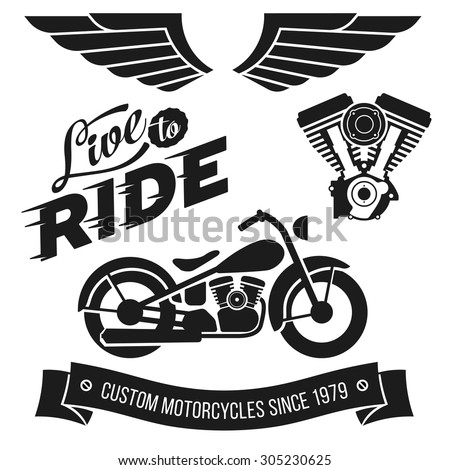 vintage motorcycle design