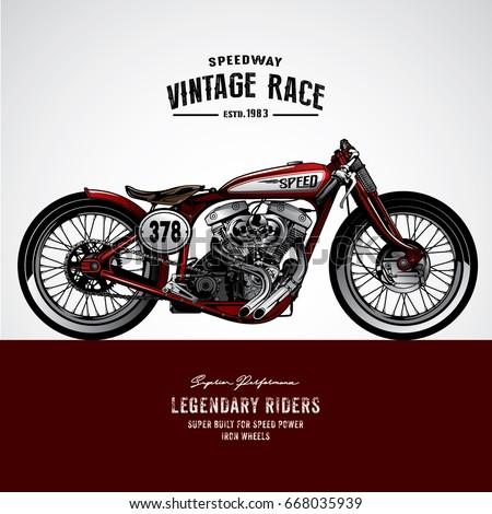 Free Motorcycle Vector